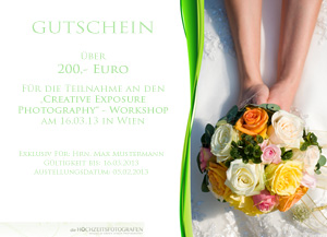 Gutschein - Green Lemon Photography