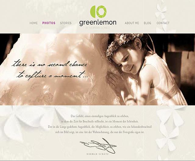 Neue Hochzeitsfoto-HP, Green Lemon Photography