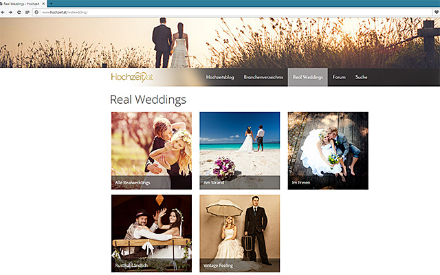 Real Weddings - hochzeit.at