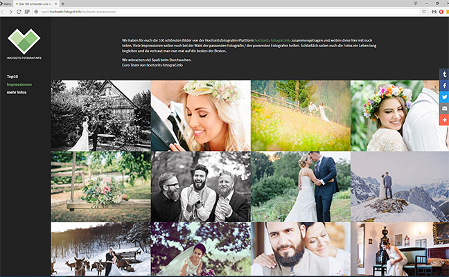 100 schönsten Hochzeits-Impressionen von hochzeits-fotograf.info