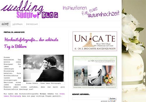 Wedding Südtirol - Portal